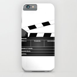 Clapperboard iPhone Case