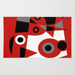 Abstract #905 Rug