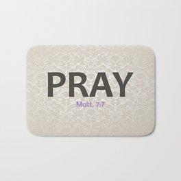PRAY Bath Mat