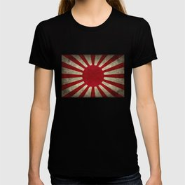 Imperial Japanese Army Ensign Flag - Vintage retro version T-shirt