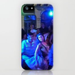 What Love Looks Like or Folk Dance, Plaza Dorrego, San Telmo, Buenos Aires iPhone Case