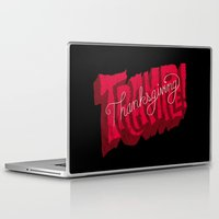 thanksgiving Laptop & iPad Skins featuring Thanksgiving and Black Friday by Chris Piascik