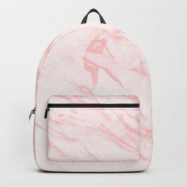 pink rose marble Backpack