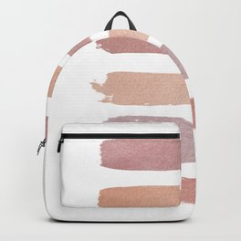 Dusty Rose Stripes Backpack
