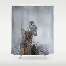 Gloomy Sunday Shower Curtain