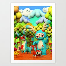 Zupo's Quest Art Print