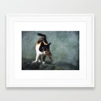 street fighter Framed Art Prints featuring street fighter by lucyliu