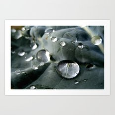 Drops World Art Print
