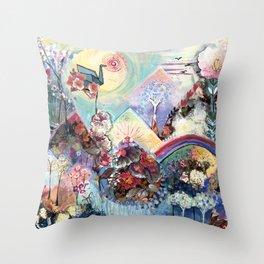 Flourishland Throw Pillow