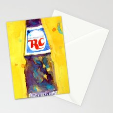 RC Cola - Vintage Art - kitchen art Stationery Cards