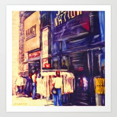 Melrose St, Los Angeles, CA #2  Art Print