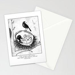 new bird Stationery Cards