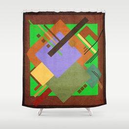 Geometric illustration 43 Shower Curtain