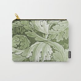 Celery Green Acanthus Plant Carry-All Pouch