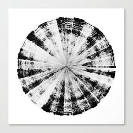 Angry Emotion (HATE IN-SITU) [Square] Canvas Print
