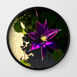 Clemantis 2.0 Wall Clock