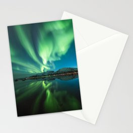 Northern Lights in Norway Stationery Cards