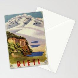 Rieti Sabina vintage Italian travel Stationery Cards