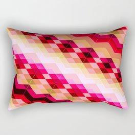 3D geometric patterns Rectangular Pillow