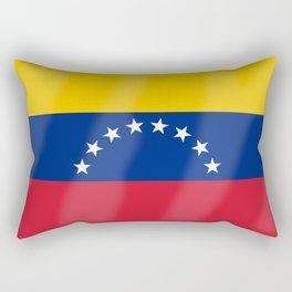 Venezuela Flag Rectangular Pillow