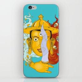 Buddhist deity iPhone Skin
