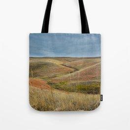 October in Grasslands National Park Tote Bag