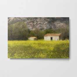 A nice place to live in Metal Print