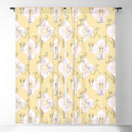 Saluki Pattern Blackout Curtain