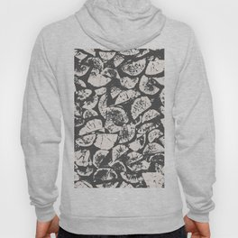 abstract pattern, Firewood texture, tree cut, gray and beige grunge wood background Hoody