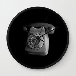Retro Telephone Wall Clock
