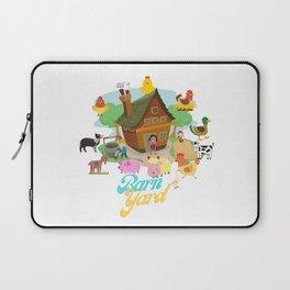 Barn Yard Laptop Sleeve