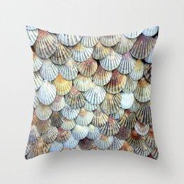 Cockleshell Collection Throw Pillow