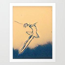 A Leap Art Print