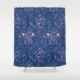 Wildflower Pattern Shower Curtain