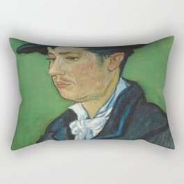 Portrait of Armand Roulin by Vincent van Gogh Rectangular Pillow