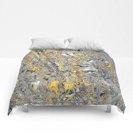 Liquid Abstract 14 Comforters