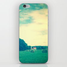 Summer Hay Field iPhone Skin