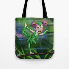 Bug Girls: Yoga Mantis Tote Bag