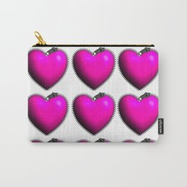 You Have My Heart all Zipped Up Carry-All Pouch