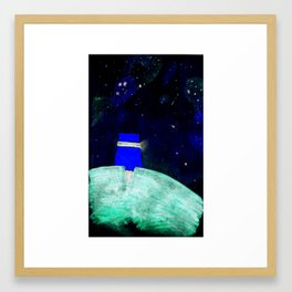 Starry Shelter Framed Art Print