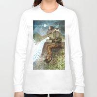 "dragon age inquisition Long Sleeve T-shirts featuring Dragon Age Inquisition - Cole - Charity by Barbara ""Yuhime"" Wyrowińska"