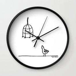 Pajaroto Wall Clock