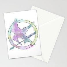 Mockingjay Watercolors Stationery Cards