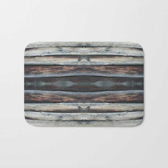 wood 2A Bath Mat