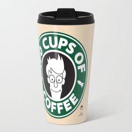 100 Cups of Coffee Travel Mug
