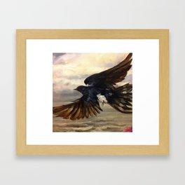 Blue Wings Framed Art Print