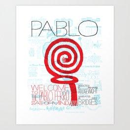 Pablo Ferro Movie Poster Art Print