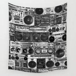 house of boombox Wall Tapestry