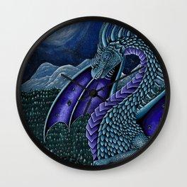 Night Dragon Wall Clock