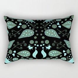 Fairy Foliage II Rectangular Pillow